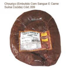Chouriço (Embutido Com Sangue E Carne Suína