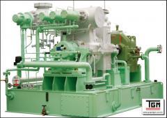 Turbinas a vapor - Média Pressão e Temperatura