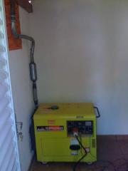 Gerador 7 Kva Diesel silenciado Automatico