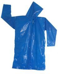 Capa de Chuva Plástico Transparente