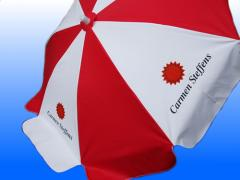 Guarda Sol promocional com a logomarca do