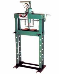 Prensa hidraulica manual ou hidropneumatica