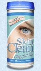 Lenços umedecidos para limpeza facial