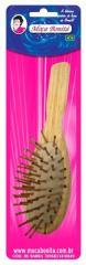 Escova cerdas madeiras antiestática