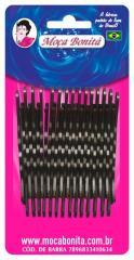 Grampo para cabelos Castanho (30 unid.)