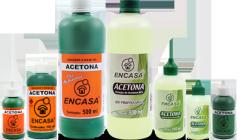 Solução à base de acetona