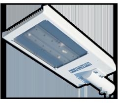 Luminaria de poste 12 LEDS