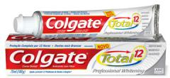 Creme dental Colgate Total® 12 Professional