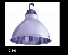 Refletor industrial em aluminio repuxado