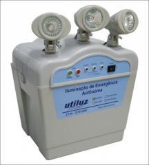 Sistema autônomo de iluminação de emergência