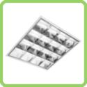 Luminária fluorescente aletada SFE-1401
