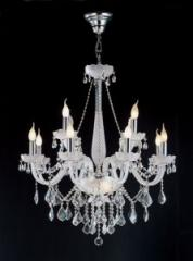 Lustre Cristal Asfour Egípicio 12 lâmpadas