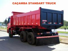 CAÇAMBA BASCULANTE STANDART - 3M³ à 12M³