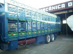 Carroceria para transporte suinos