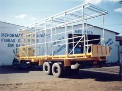 Carroceria para transporte aves