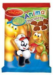 Biscoito Animal Chocolate