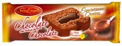 Bolo de Chocolate com recheio de Chocolate