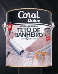 TINTA ACRÍLICA TETO DE BANHEIRO
