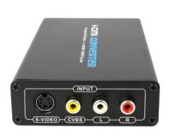 Conversor RCA e S-video para HDMI 1080p