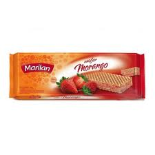 Wafer Morango 140g