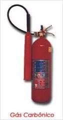 Extintores de gas carbonico