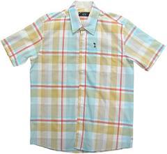 Camisa Casual Fio Tinto Xadrez M.Curta