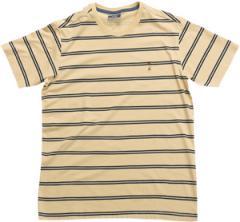 Camiseta Casual 1/2 Malha Listrada
