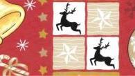 Tecido para Decoupage e Patchwork Natal