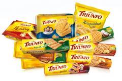 Biscoitos Triunfo.