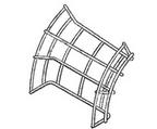 Curva Vertical Externa 45°