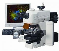 Microscópio biologico