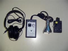 Geofone Eletrônico - Modelo MIC-01
