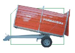 CBHM 10.000 Forrageira - Basculante Hidráulica com