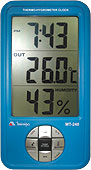 Relógio Termo-Higrômetro Digital  Modelo MT-240