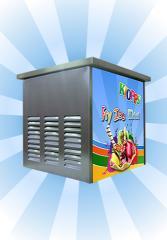 Máquina de Fry Ice (Chapa Fria) - Kiopps Mini