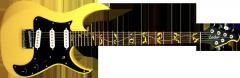 Guitarra Wisdom 4 cordas ponte fixa