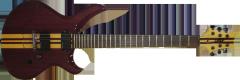 Guitarra Invader 6 cordas ponte fixa