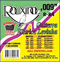 R84 - Cordas para Guitarra Elétrica Levinha,