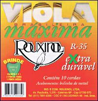 R35 - Cordas para Viola Brasileira Máxima.