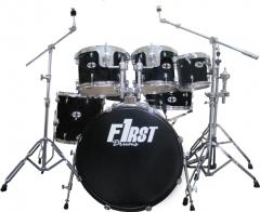 First Drums Bateria Acustica Black 3T
