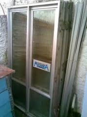 Portas Anti-ruído de vidro e alumínio