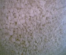 Flocos de isopor
