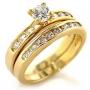 Anel e Aparador com Diamantes