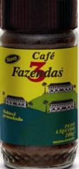 Café Solúvel 3 Fazendas-Granulado 100g