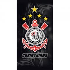 Toalha Corinthians Veludo