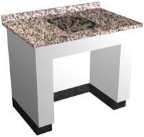 Mesa para balança (anti-vibratória) com 01 núcleo