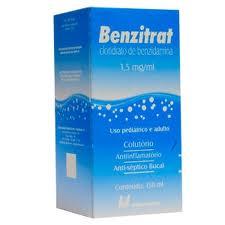Benzitrat Solução Tópica