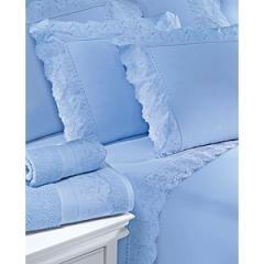 Jogo de Cama Cristal Cybelle Azul