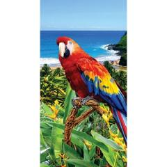 Toalha Beach Parrot Veludo