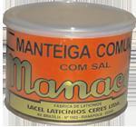 Manteiga comum com sal
